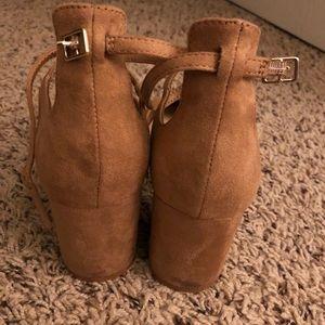 Aldo Shoes - ALDO - BROOKSHEAR MEDIUM BROWN BLOCK HEEL